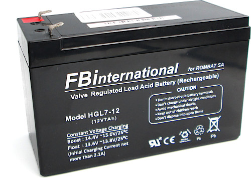 Wide image for Acumulator FBinternational 12V / 7Ah (HGL7-12)