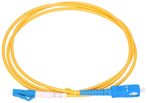 Wide image for Patchcord optic SM LC/UPC-SC/UPC SIM Ø3mm 2m