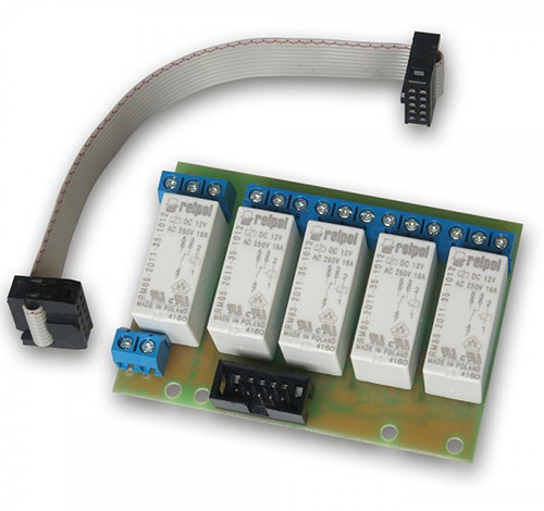 Wide image for Relay board 5 x 16A