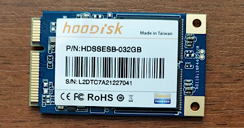 Wide image for SSD mSata 32GB MLC Hoodisk