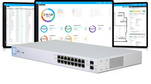 Wide image for UniFi Switch 16-150W