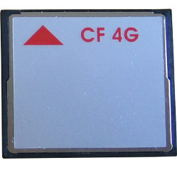 Medium image for CompactFlash 4 GB SLC